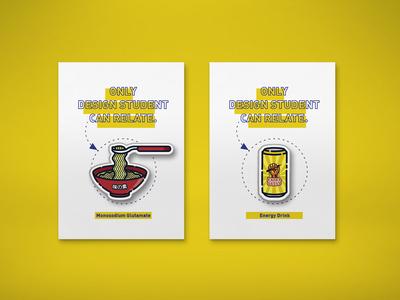 Design Student Pins (Full ver. on Behance)