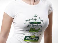 typography illustration promo t-shirt