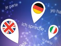 App Screen for Pocket Phrasebook and grammar.