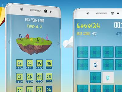 memory island game play screens