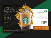 Starbucks Product Card Concept