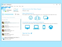 Skype Redesign Concept