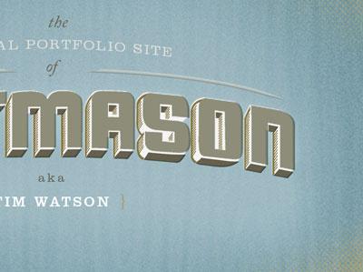 Wittmason Splash Screen website logo logotype portfolio splash
