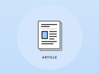 Article icon - place holder image