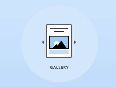 Gallery icon placeholder publishing gallery icon