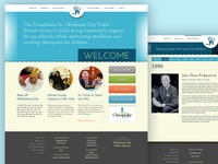 OKCkids website