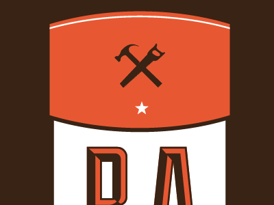 RA logo ver.3 logo brand construction saw hammer star