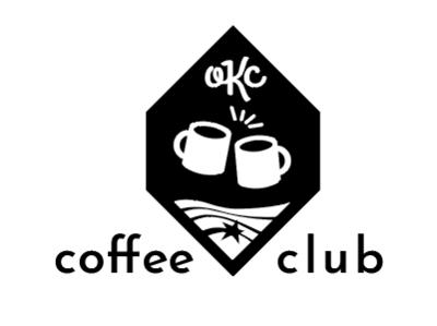 RSI OKC Coffee Club logo coffee cup coffee logo rsi