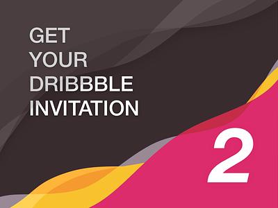 Dribbble Invitation dribbble invite invitation invite
