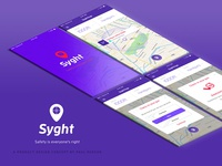 Syght branding and app concept