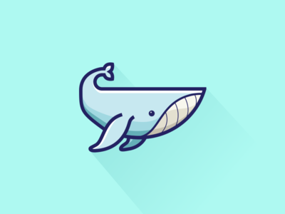 Whale illustration blue animal ocean whale