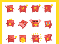 Red packet Emoticon