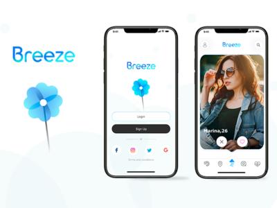Dating App Breeze Concept