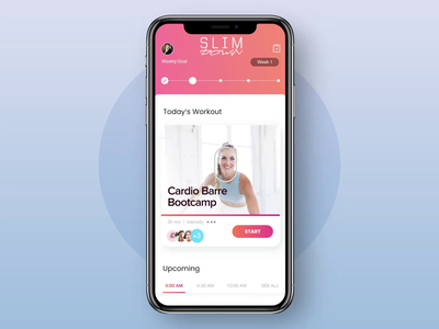 FITON - Fitness App product design products product cardio fitness center fitness club app ux design fitness app fitness ui