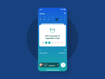 Card swipe - micro interaction micro interaction interaction health app wellness health animation product design product uxui app layout visual concept design ui