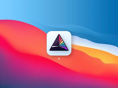 iLabs logo on macOS Big Sur appicons app design appicon logo product app 3d concept design ui