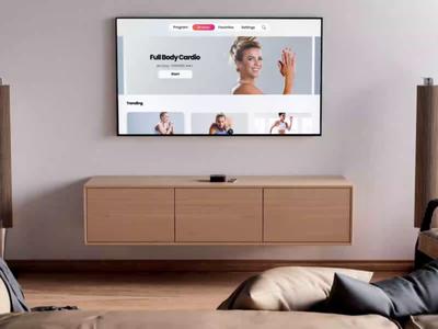 FitOn TV tv app fiton tvos apple design design app app design product uxui fitness app apple watch fitness tv apple design ui