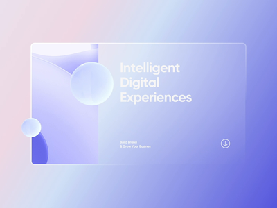 Digital Experiences aftereffects effect animation product 3d uxui layout visual concept design ui
