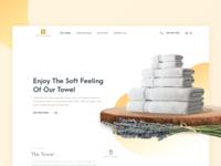 Maison Du Magnolia Towels