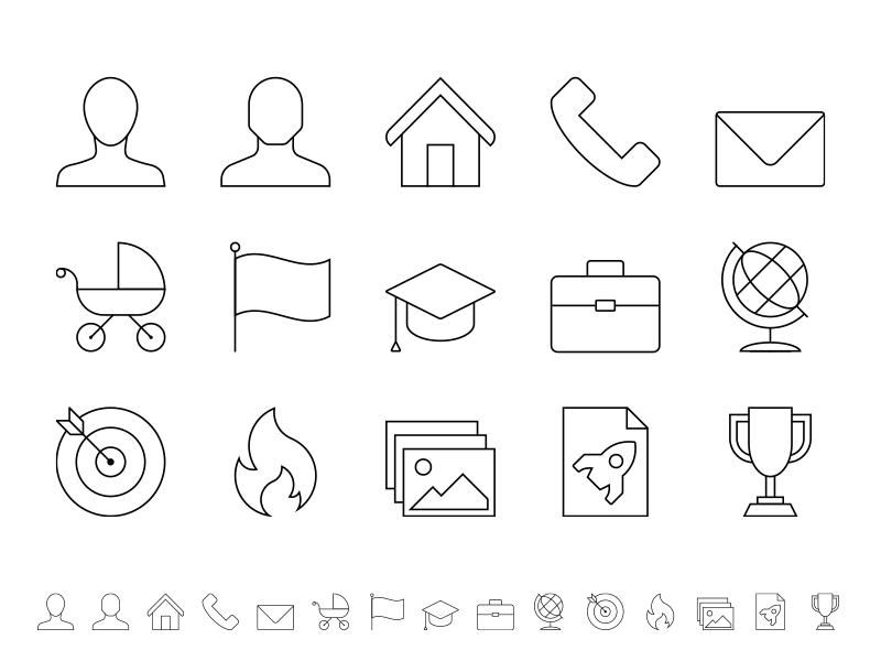 Curriculum Vitae Icon Series By Wouter Buning Vormverteller