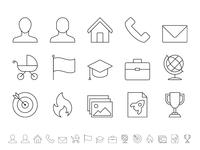 Curriculum Vitae icon series