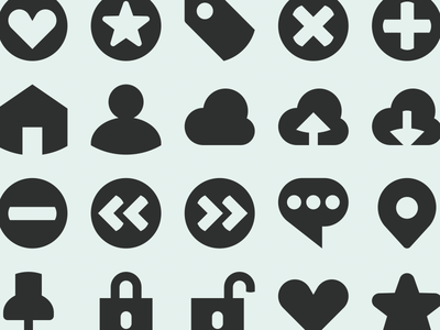 TiNY Bold Filled dutch design ui design icons symbol icon
