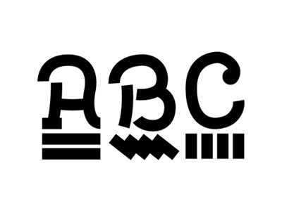 New personal ID typography (in progress) typography type font uppercase abc