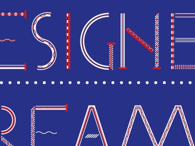 The designer dream (at night) type design typography typeface font modular multi-layered indesign display stroke serif uppercase alice donadoni