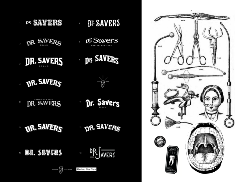 Dr. Saver's Logo Exploration