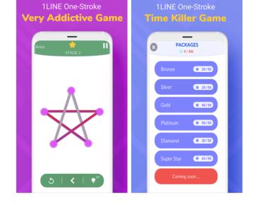 1 Line Puzzle Game Design