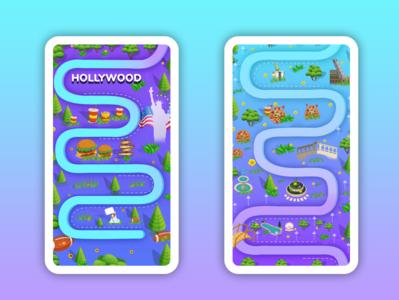 Word link Game Design
