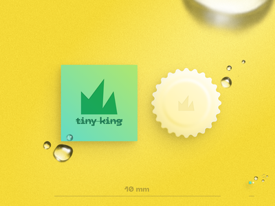 Tiny King    Soap for tiny things typography tiny branding illustration package design packaging graphic design soap