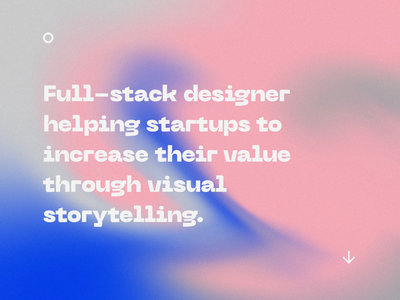 Gradient Exploration 3 typography colorful portfolio illustration gradient design gradient
