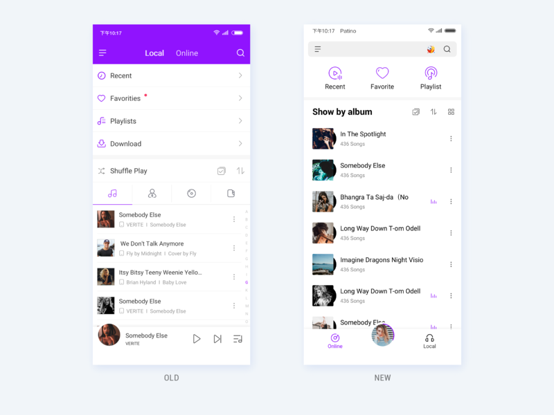 MI Music 3 0 upgrade by Patino Wang on Dribbble