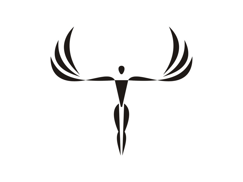 angel logo by sergey korkin dribbble rh dribbble com angel logos and designs angel logos and designs