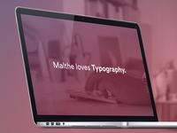 New Portfolio Website is coming soon …