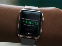 kontoalarm - Apple Watch, its getting true.
