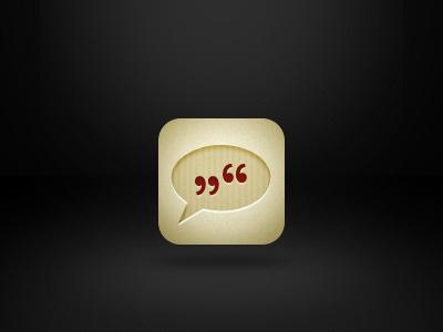 iOS icon quotes ios icon app paper wallpaper