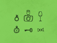 pompom - wedding handmade icons
