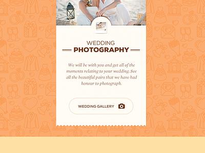 Wedding gallery tag button wedding design ui web pattern gallery photography typography web design wedding photography