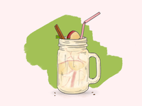 Apple Ice Tea - food