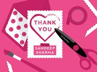 Thank You Sandeep Sharma
