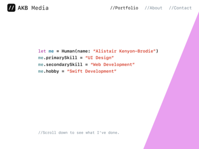 Website Design - AKB Media design web design swift designer developer development ui website web