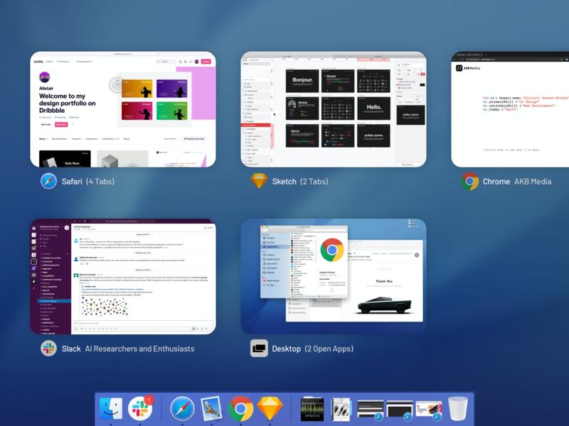 Mac OS Multitasking wwdc wishlist macos mac apple