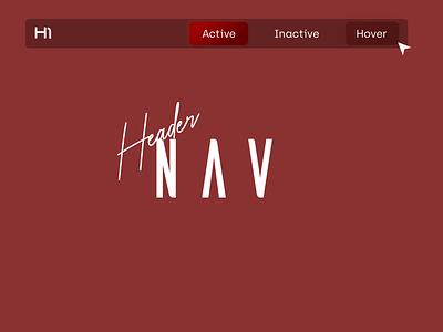 Daily UI 53 - Header Navigation headers desktop menu menu web navigation ui header navigation header design nav header