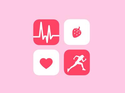 Daily UI 005 - Fitness Icon Set