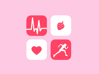 Daily UI 005 - Fitness Icon Set