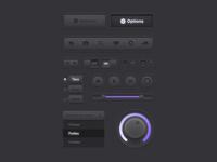 Darkpurple UI Kit