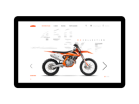 KTM product view