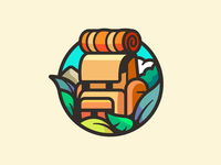 Don Viajes sunset photo joy explore vacation landscape photography love mountain cute day night backpack nature leafs traveling travel logo